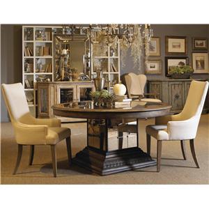 Pulaski Furniture Accentrics Home 3 Piece Table & Chair Set