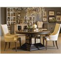 Pulaski Furniture Accentrics Home 3 Piece Table & Chair Set - Item Number: 201011+12+2x205017