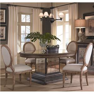 Pulaski Furniture Accentrics Home 5 Piece Table & Chair Set