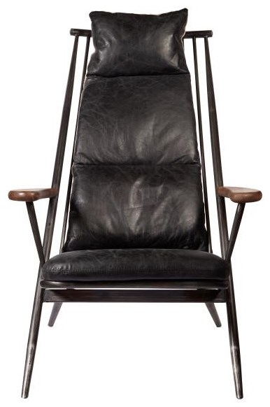 Accents Leather Accent Chair at Bennett's Furniture and Mattresses