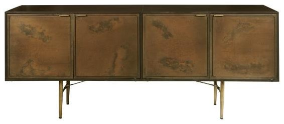 Accents Metal Sideboard at Bennett's Furniture and Mattresses