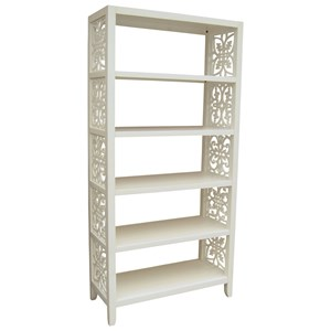 Pulaski Furniture Accents Mario Bookcase/Etagere