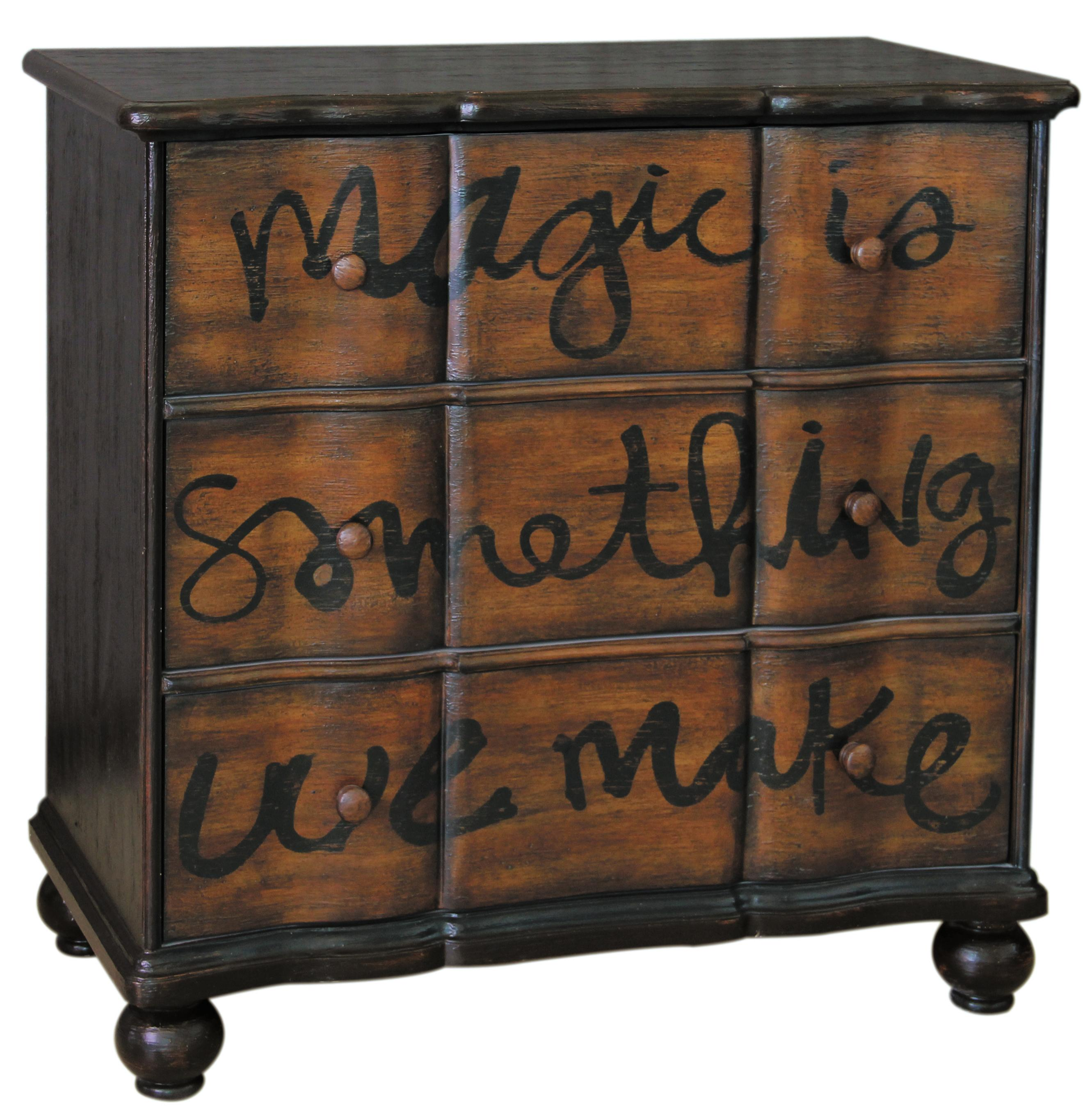 Pulaski Furniture Accents Magic Chest of Drawers - Item Number: 641107