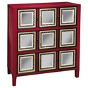 Pulaski Furniture Accents 3 Drawer Red Accent Chest