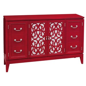 Pulaski Furniture Accents Randy Rouge Console