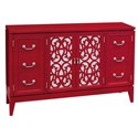 Pulaski Furniture Accents Randy Rouge Console - Item Number: 641152