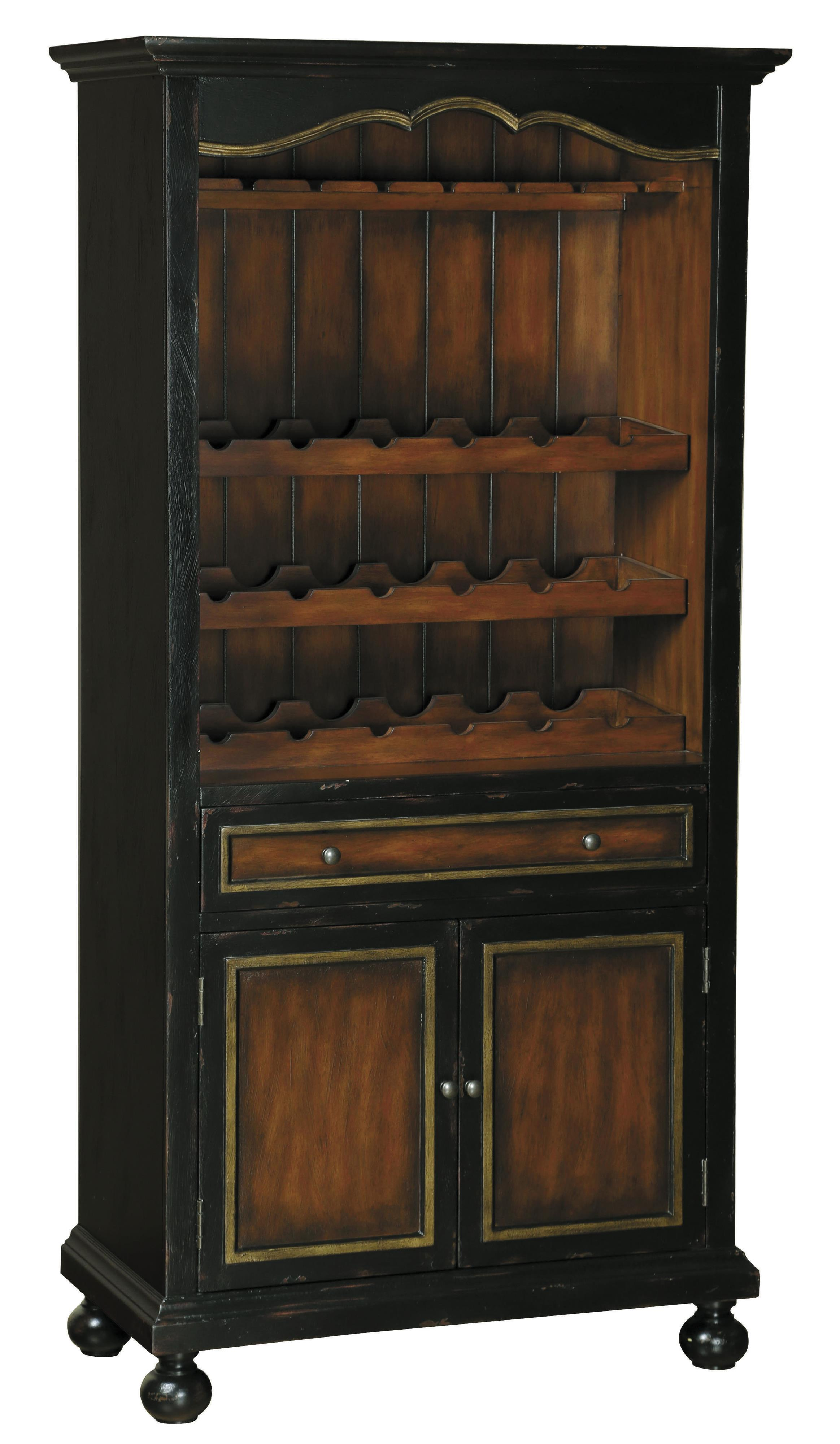 Pulaski Furniture Accents Corde Valle Wine Cabinet - Item Number: 675000