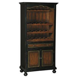 Pulaski Furniture Accents Corde Valle Wine Cabinet