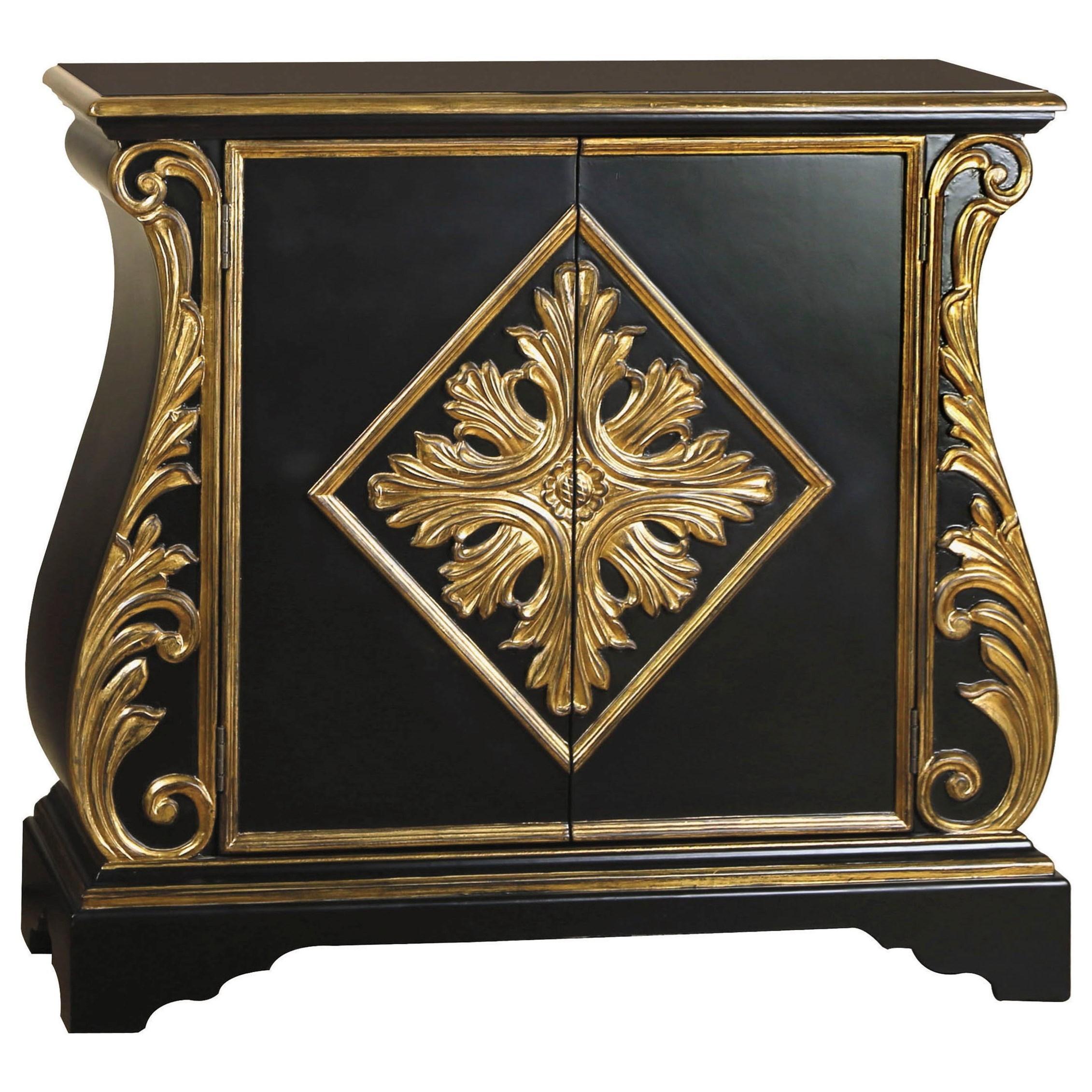 pulaski furniture accents caesar chest with acanthus motif m