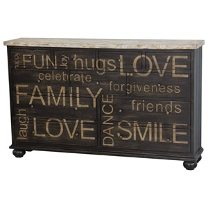 Pulaski Furniture Accents Harborview Credenza