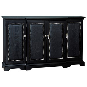 Pulaski Furniture Accents Ebony Gator Credenza