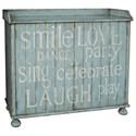 Pulaski Furniture Accents Justina Wine Cabinet - Item Number: 730032