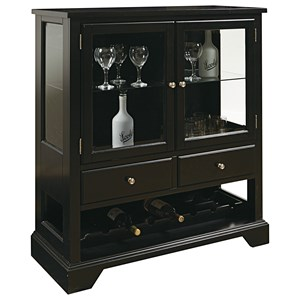 Pulaski Furniture Accents Leo Wine Cabinet