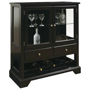 Pulaski Furniture Accents Leo Wine Cabinet