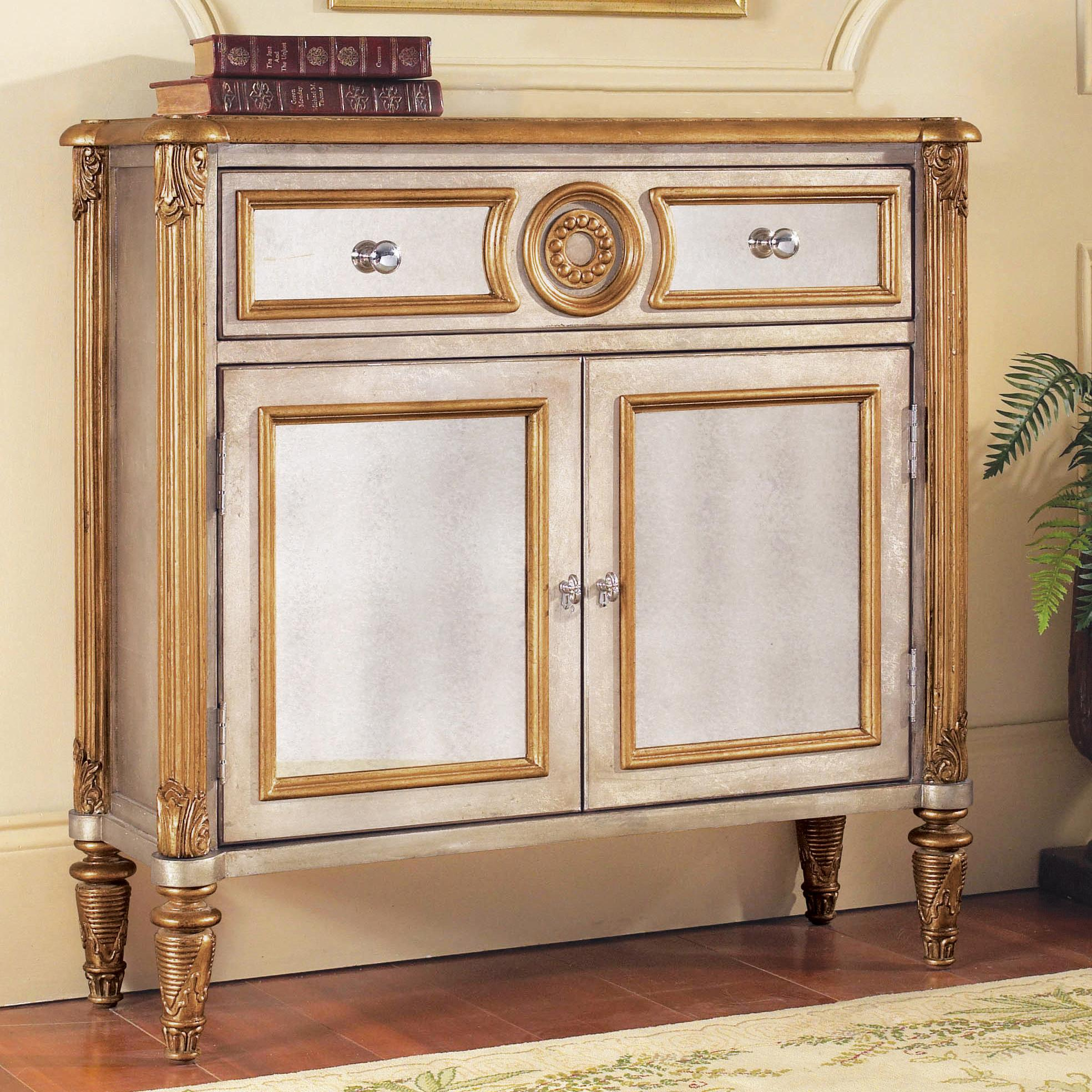 Pulaski Furniture Accents Mirrored Hall Chest - Item Number: 739277