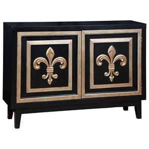 Pulaski Furniture Accents Fleur De Lis 2 Credenza