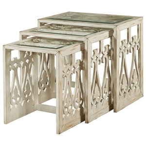 Pulaski Furniture Accents Summer Nesting Table