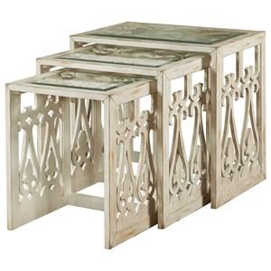 Pulaski Furniture Accents Summer Nesting Table
