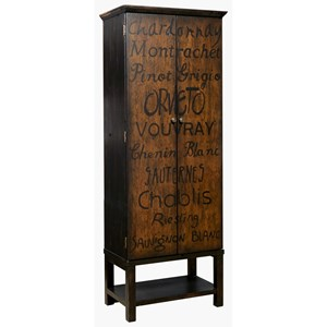 Pulaski Furniture Accents Majic Wine Cabinet