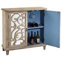 Pulaski Furniture Accents Boca Accent Console with Wine Storage