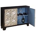 Pulaski Furniture Accents Finesse Accent Console with Wine Storage