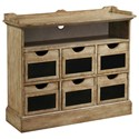 Pulaski Furniture Accents Final Straw Accent Sideboard - Item Number: 806057