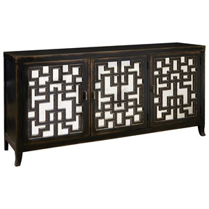 Pulaski Furniture Accents 3 Door Console