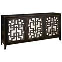 Pulaski Furniture Accents 3 Door Console - Item Number: 806077