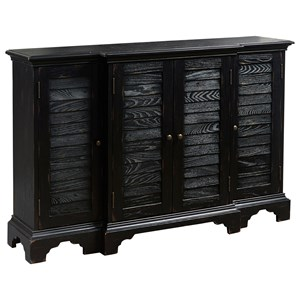 Pulaski Furniture Accents Shutter Console