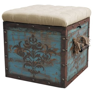 Pulaski Furniture Accents Storage Ottoman