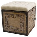 Pulaski Furniture Accents Storage Ottoman - Item Number: DS-597014
