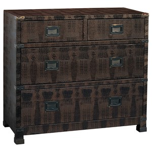 Pulaski Furniture Accents Bronze Lame Chest