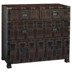 Pulaski Furniture Accents Bronze Lame Chest