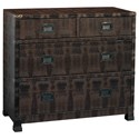 Pulaski Furniture Accents Bronze Lame Chest - Item Number: DS-641156