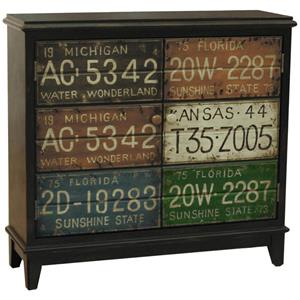 Pulaski Furniture Accents License Plate Accent Hall Chest
