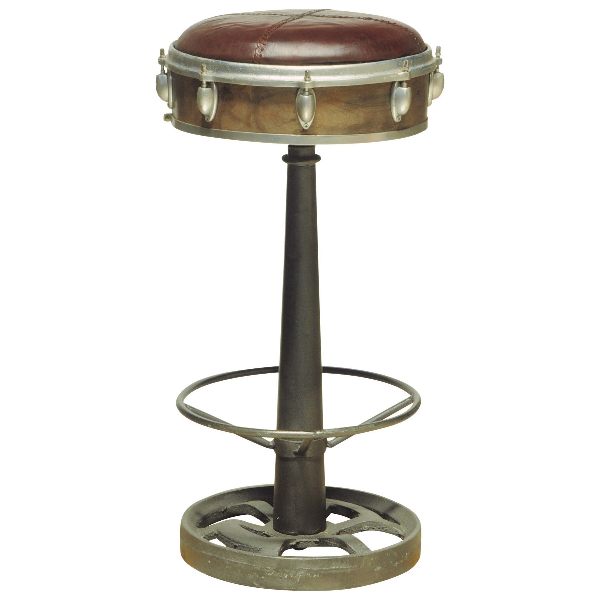 Pulaski Furniture Accents Wright Bar Stool With Drum