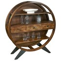 Pulaski Furniture Accents Three Drawer Circular Etagere