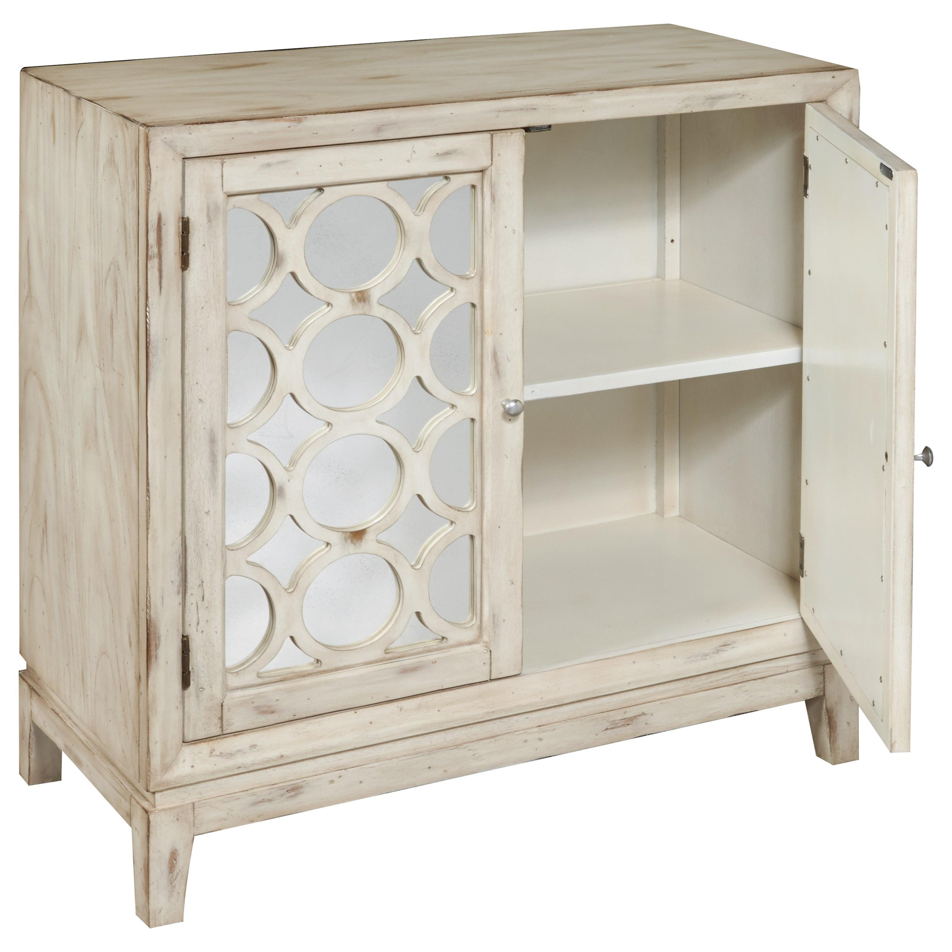 Pulaski Furniture Accents Quinn Hall Chest With 1 Adjustable Shelf Belfort Furniture Accent
