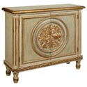 Pulaski Furniture Accents George V Hall Chest with Decorative Gold