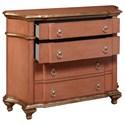 Pulaski Furniture Accents Cloister Accent Chest in Terra Cotta Tone