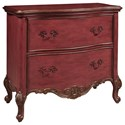 Pulaski Furniture Accents 2 Drawer Sharone Accent Chest with Cabriole Legs