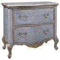 Pulaski Furniture Accents 2 Drawer Rochelle Accent Chest with Carved Cabriole Legs