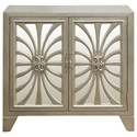Pulaski Furniture Accents Decatur Bar Cabinet with Mirrored Doors
