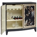 Pulaski Furniture Accents Charlotte Accent Cabinet with Bar Storage