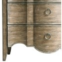Pulaski Furniture Accents 3 Drawer Mallory Accent Chest with Shaped Front