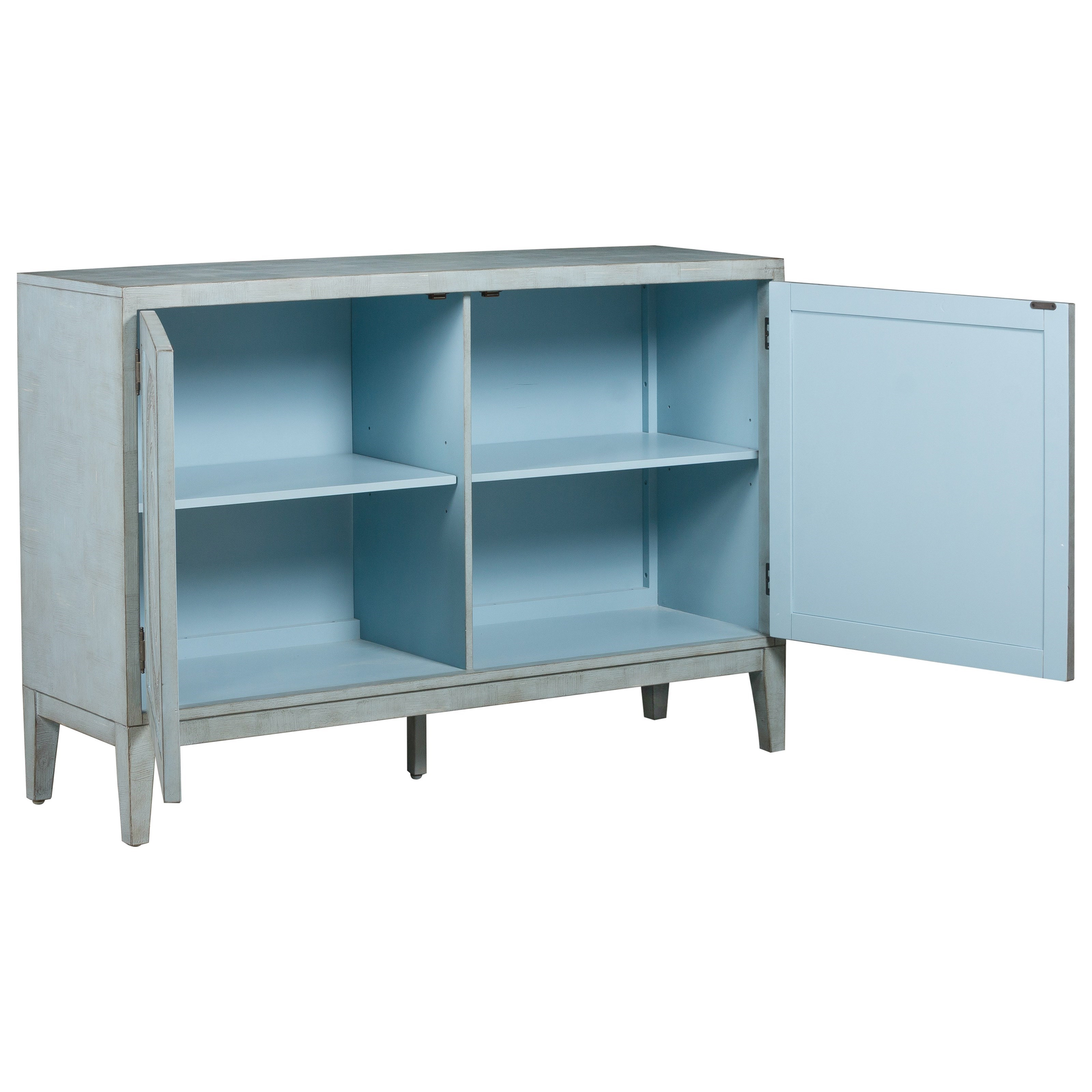 Pulaski Furniture Accents Brianne Credenza With Intricate Door Embossings Jacksonville
