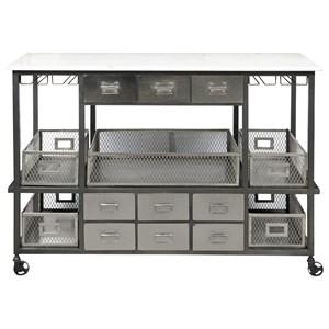 Pulaski Furniture Accents Metal Accent Sideboard