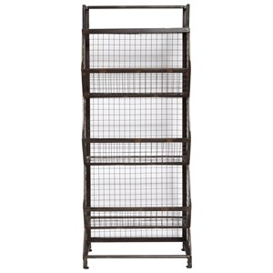 Pulaski Furniture Accents Metal Bin Etagere