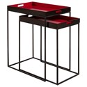 Pulaski Furniture Accents Nesting Tables - Item Number: P020617