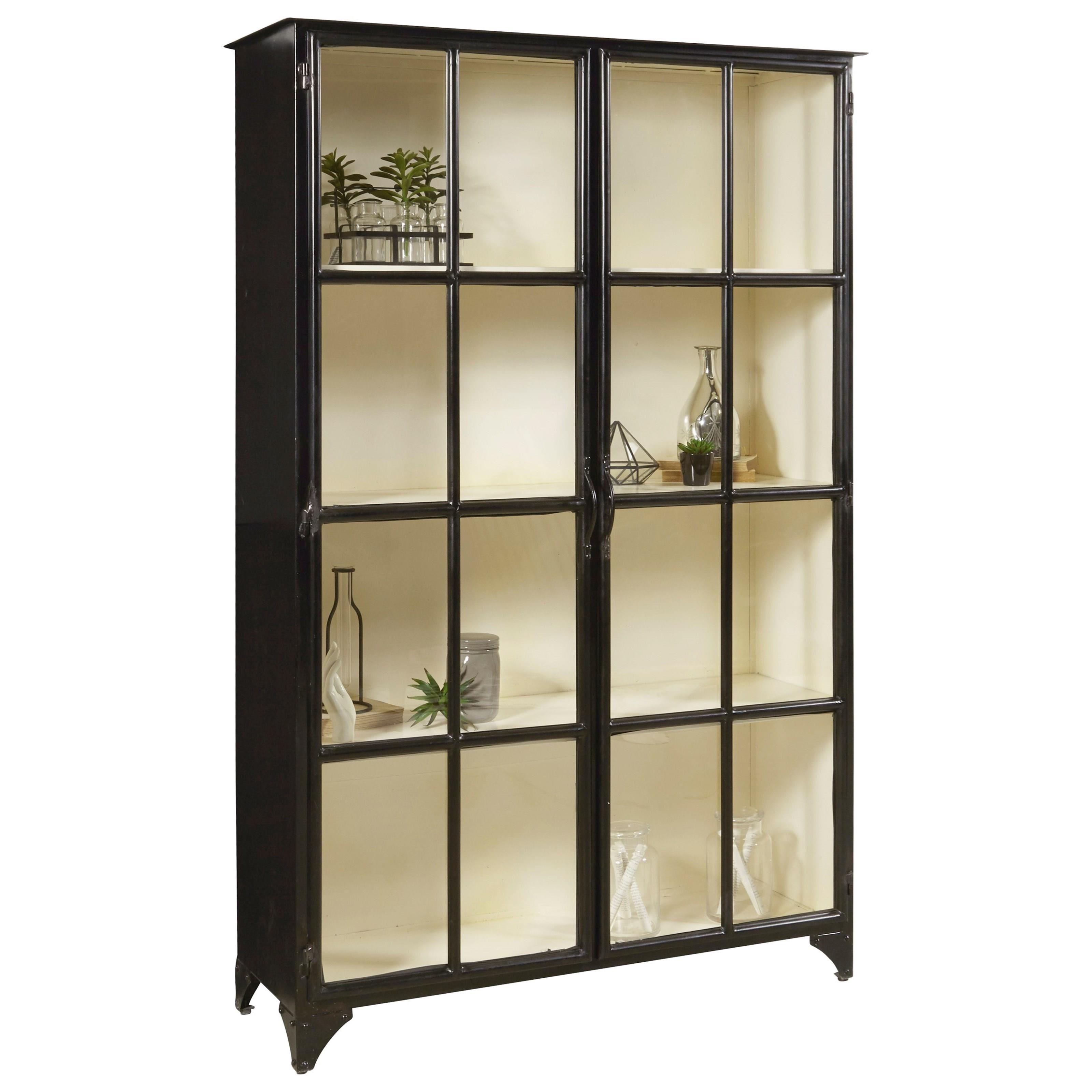 Pulaski Furniture Store: Pulaski Furniture Accents Metal Display Cabinet In Matte